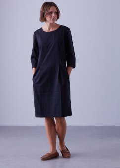 Jackie 3/4 dress black