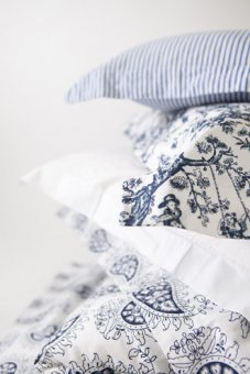 pillowcase cotton toile de jouy