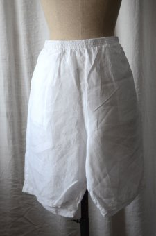 Shorts in linen
