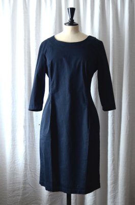 jackie dress navy